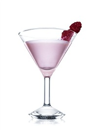 absolut apeach melba cocktail