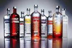 absolut flavored vodka