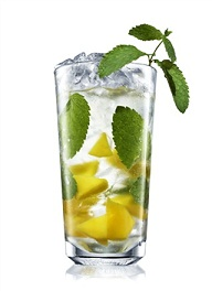 absolut mango mojito cocktail