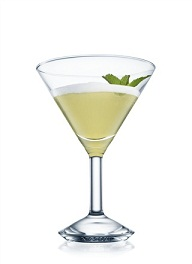 absolut ruby menta cocktail