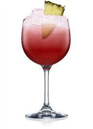batida rosa cocktail