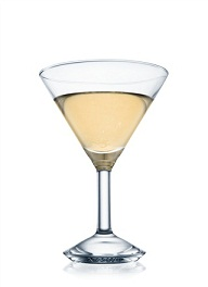 bellini-tini cocktail