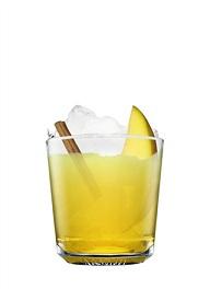 cinnamon sour cocktail