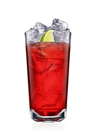 malibu and cranberry cocktail