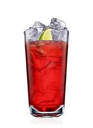 malibu and cranberry cocktail