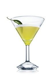 spicy mangotini cocktail