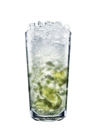 vodka mojito cocktail