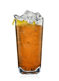 cherry brandy flip cocktail