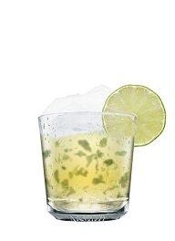 absolut citron mojito cocktail