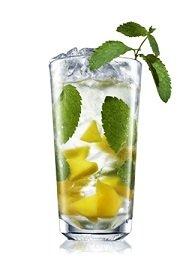 absolut mango mojito cocktail