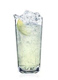 absolut raspberri collins cocktail
