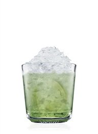basil and mint mojito cocktail